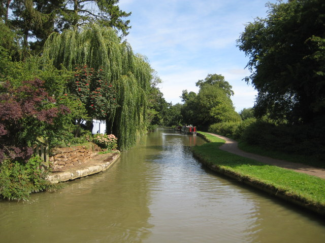 Grand Union Canal: Site of Bridge Number 113