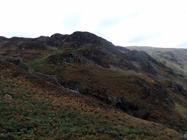 High Crag from Lingy End