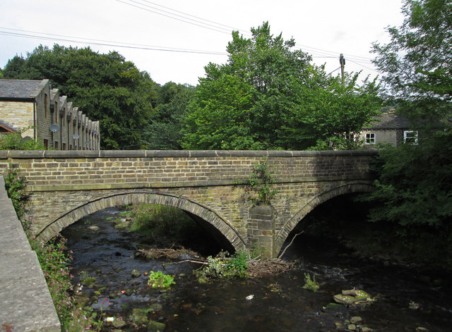 Triangle - Stansfield Mill Lane bridge