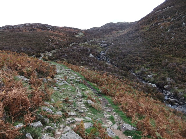 The track to Dock Tarn