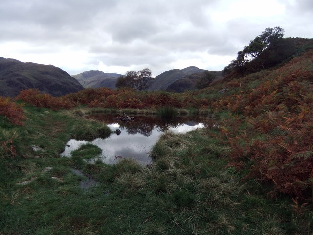 Small tarn on High Doat
