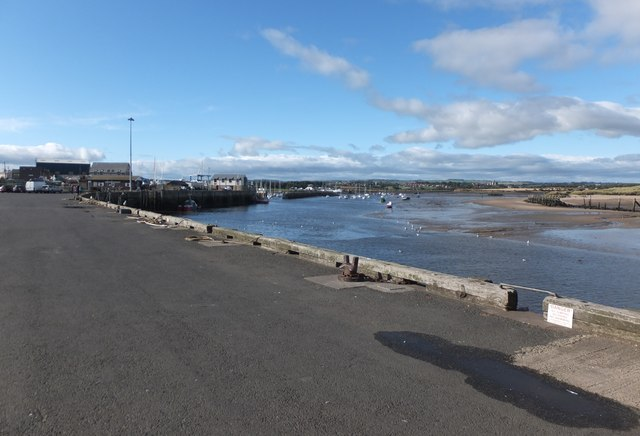 Looking towards the Braid and Warkworth Harbour