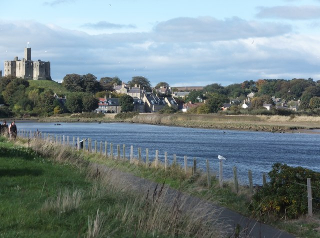 Warkworth from the riverside path