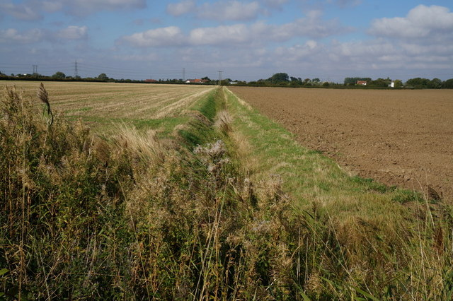 One of the many drains in South Holderness