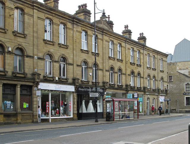 Sowerby Bridge - Ryburn Buildings - West Street frontage