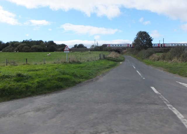 Minor road to High Buston