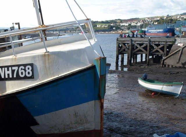 Boats at Teignmouth