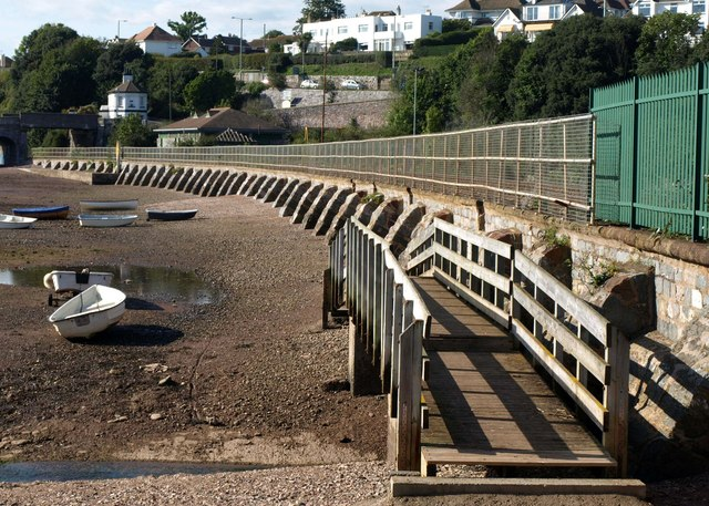 Footbridge, Teignmouth