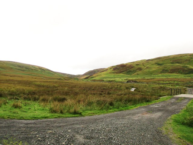 Looking towards Garroch Water Glen