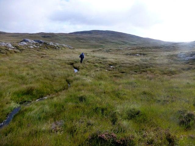 Heading For Loch Ruah