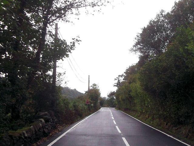 A498 at Bryn-yr-aur