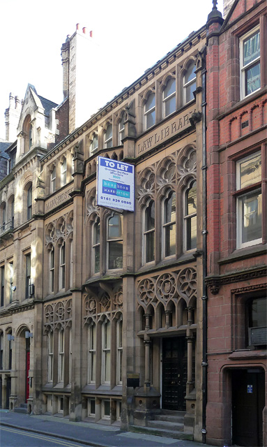Manchester Law Library, Kennedy Street, Manchester
