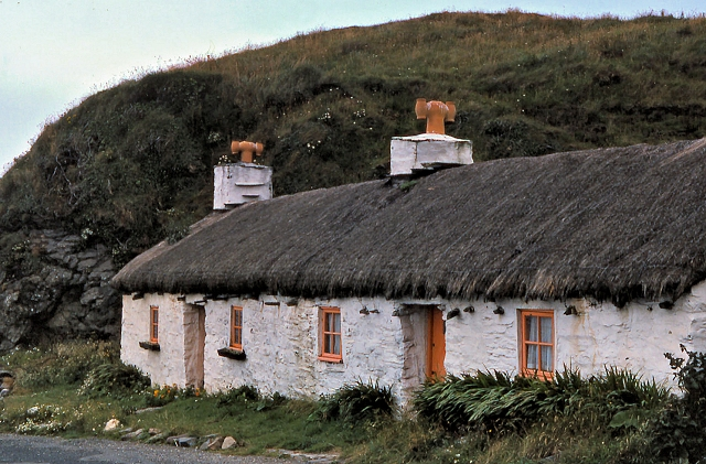Thatched Cottages at Niarbyl