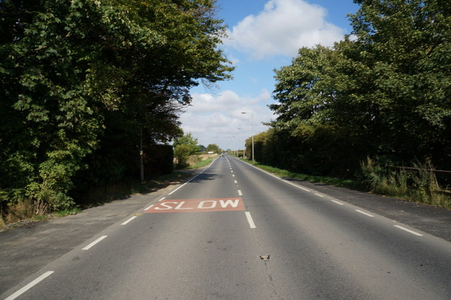 Staithes Road towards Preston, East Yorkshire