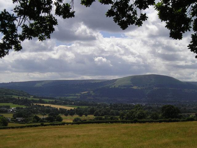 Farm Land Below Caer Wood