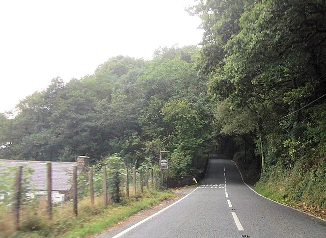 A498 at Turnpike Cottage