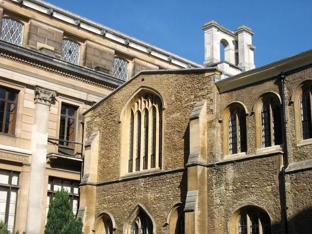 In West Court, Old Schools