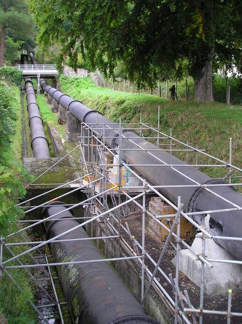Water Pipeline, Dolgarrog
