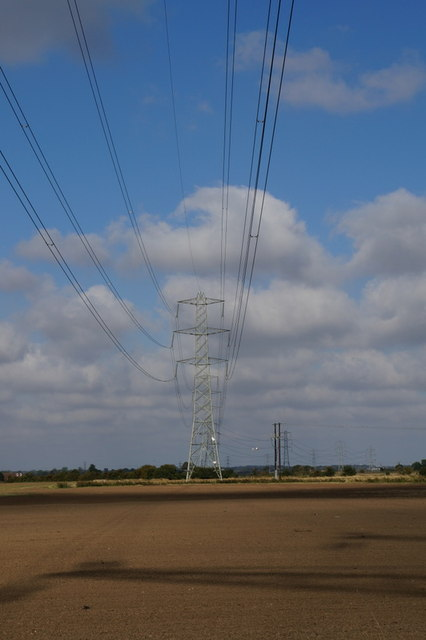 Pylons in South Holderness