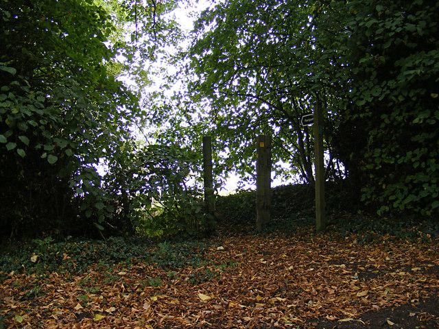 Footpath off Church Lane