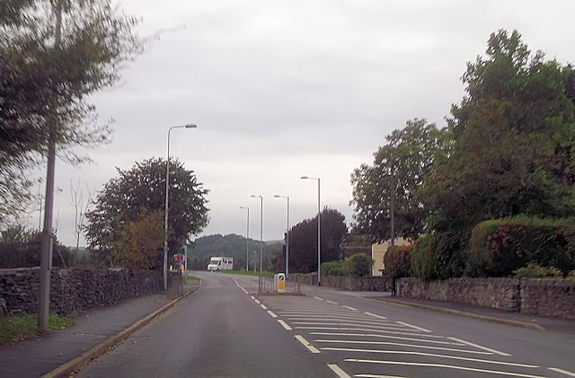 West exit from Tremadog from A498