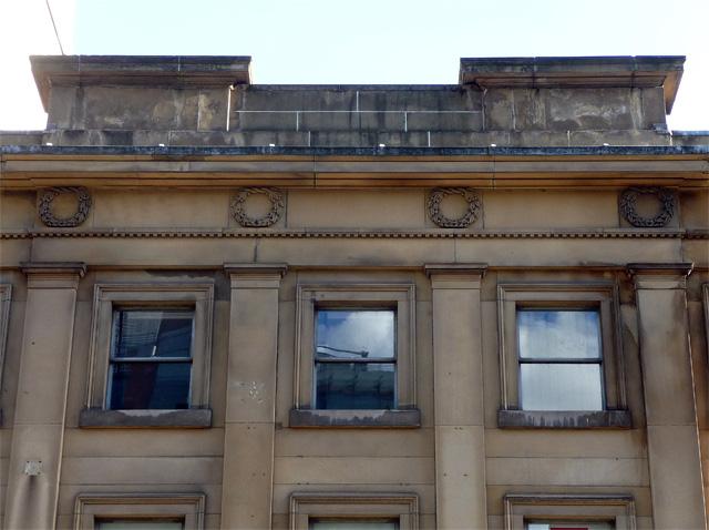Detail of 84-86 King Street, Manchester