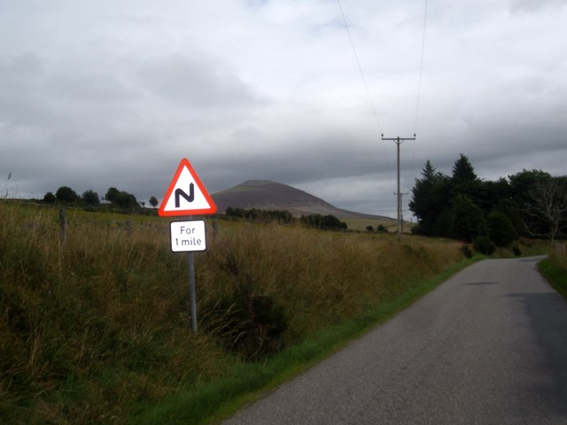 Bends on the A941