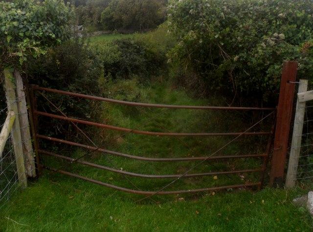 Giat fwaog / A bowed gate