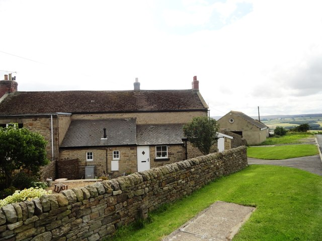 Farm cottages at Caterway Heads