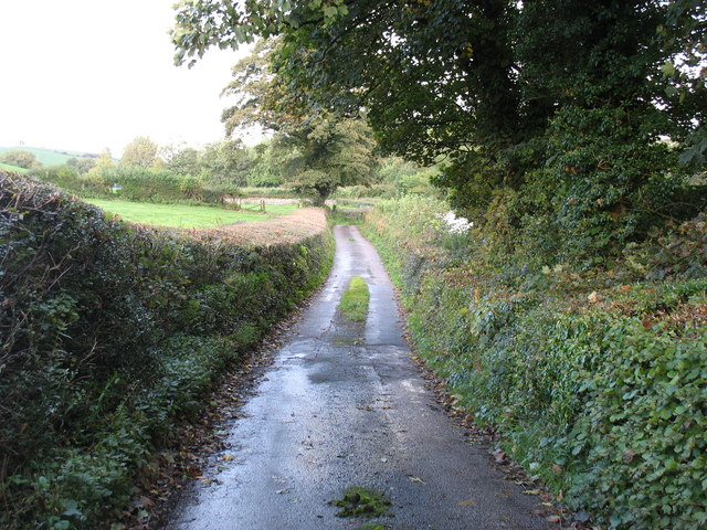 The lane from Milton to Crooklands