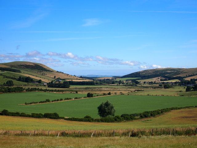 Farmland Near Kirk Yetholm