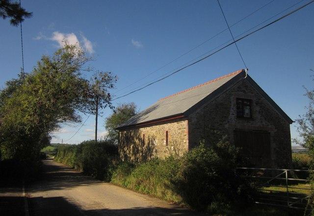 Barn by Vollard's Lane