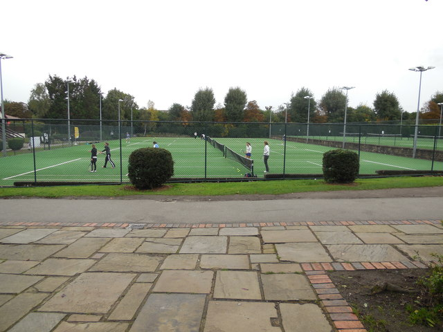 Tennis Courts in Wimbledon Park