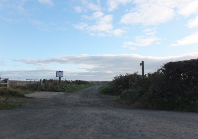 Bridleway to the coast