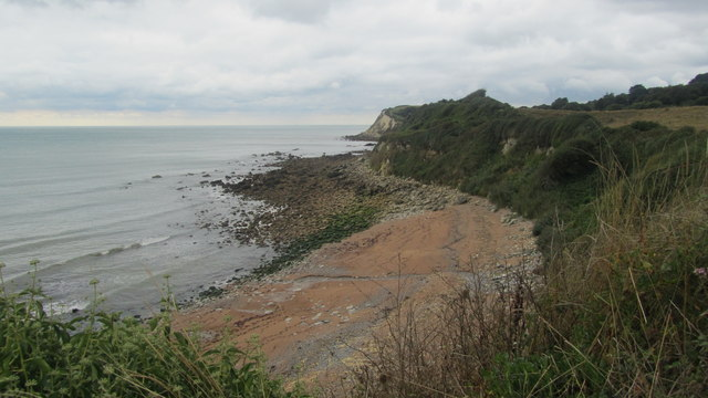 Woody Bay from the coastal path