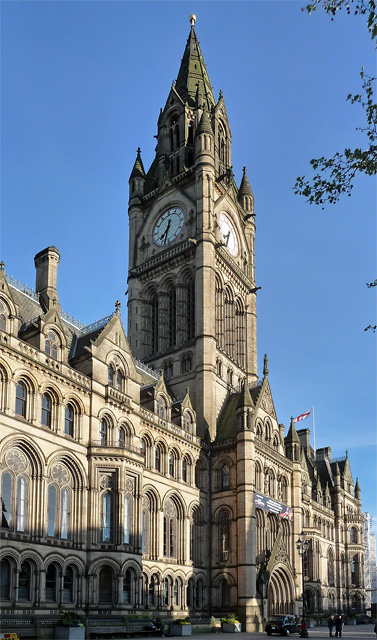 Town Hall, Albert Square, Manchester (3)