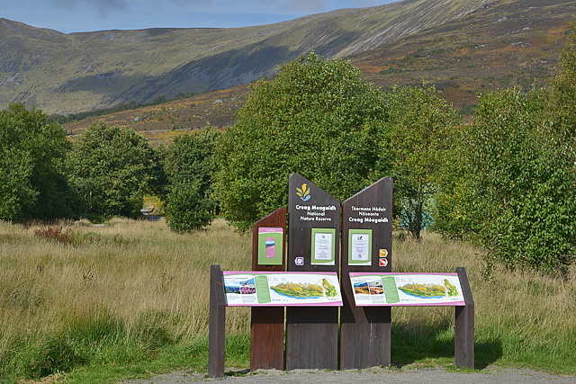 Information point, Creag Meagaidh NNR