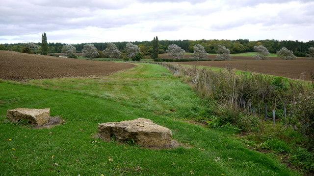 View towards a quarry
