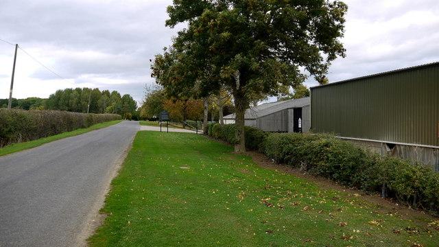 Harley Way at Churchfield Farm
