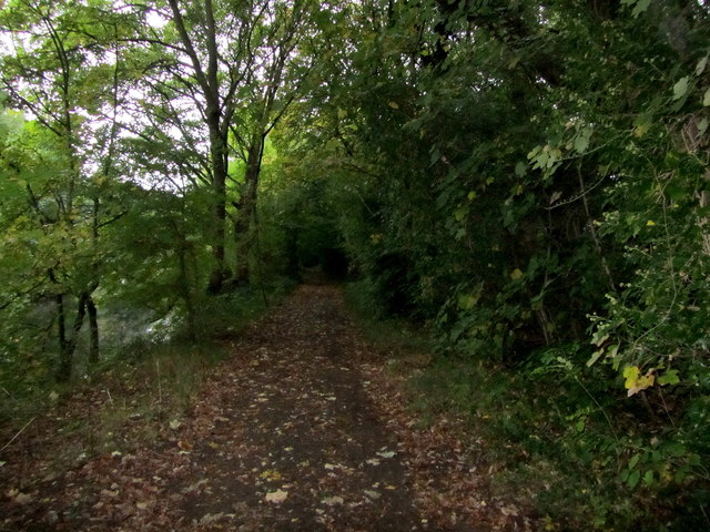 Bridleway beside the River Aire