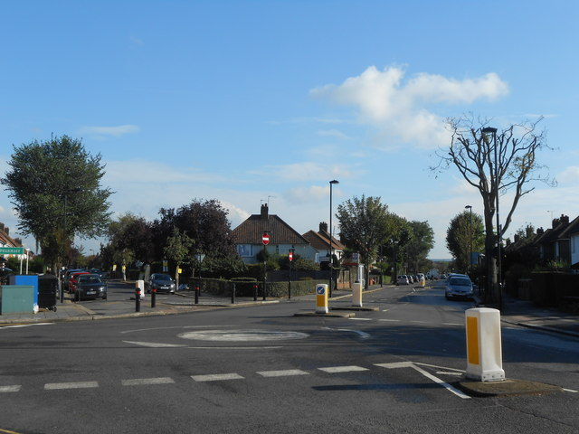 Noel Road and Saxon Drive