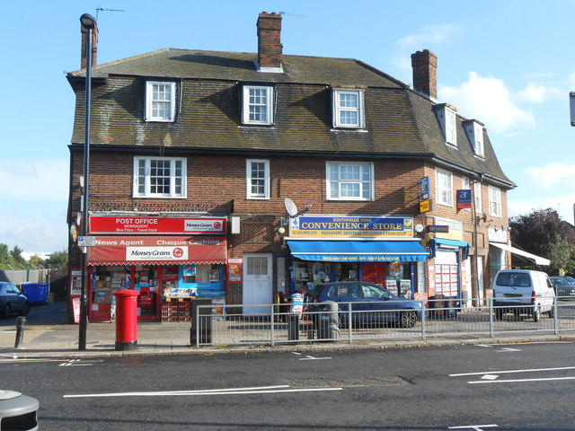 Shops near West Acton tube station