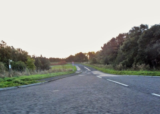 Road to Druridge Bay Country Park