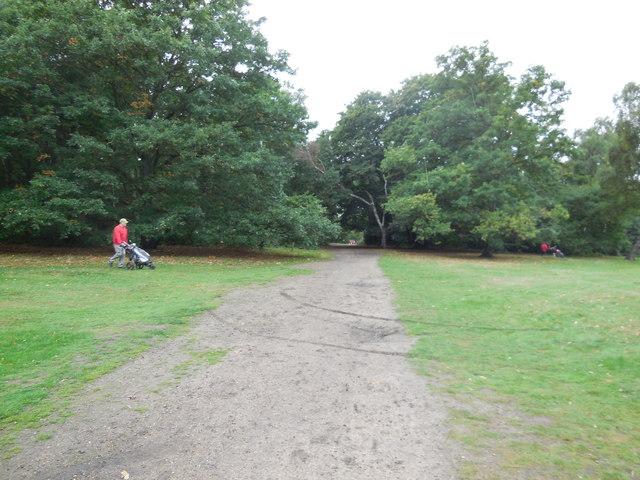 Path through Golf Course, Wimbledon Common