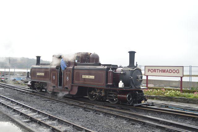 Merddyn Emrys from Harbour station