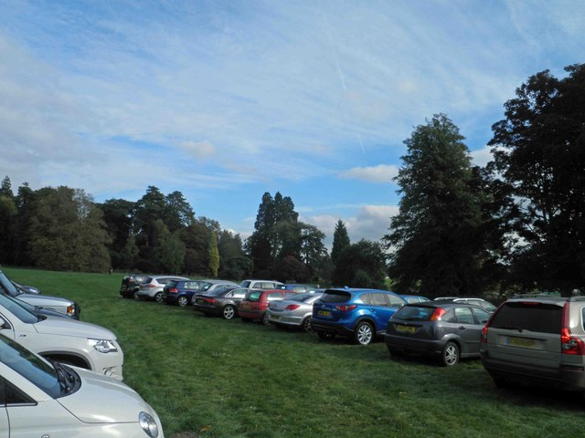 Car park on The Downs at Westonbirt Arboretum