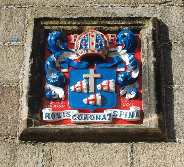 King's College Chapel heraldry XI