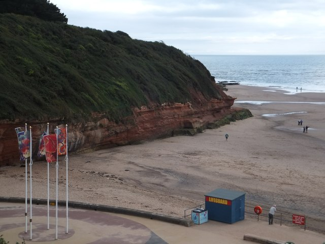 Rodney Point and Orcombe Rocks, Exmouth
