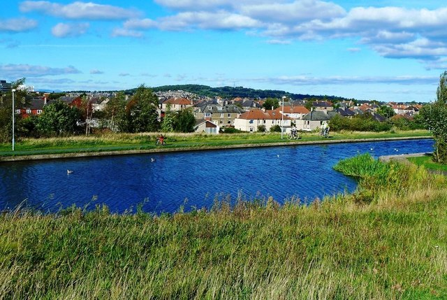 Union Canal at Wester Hailes