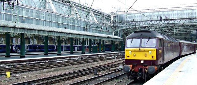 The Royal Scotsman at Glasgow Central